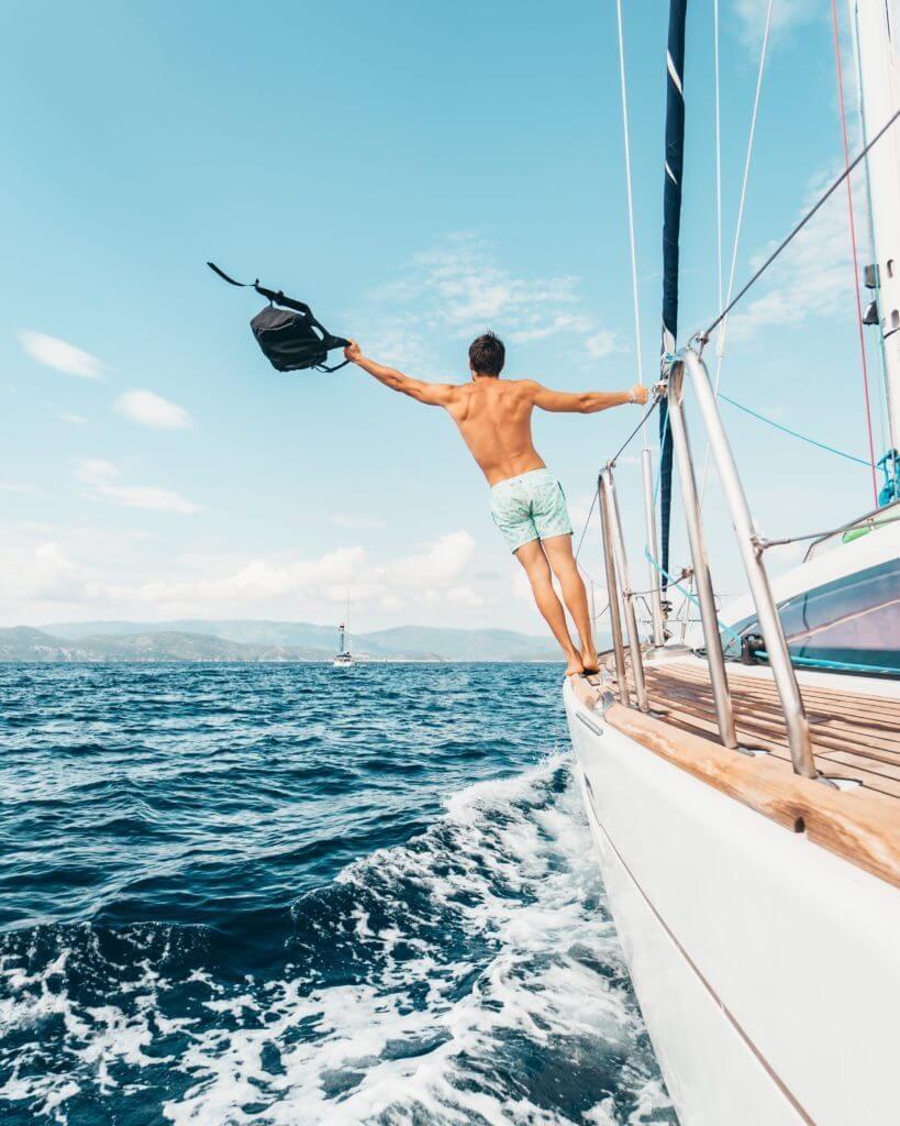 Retirement Spending - sailing