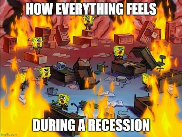 recession-investments-on-fire